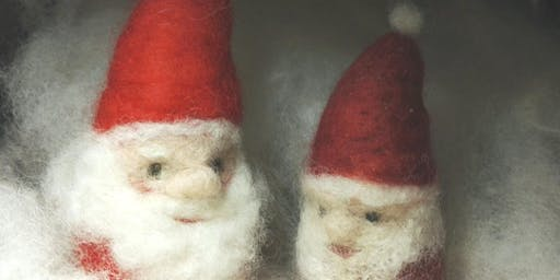 Needle Felting Christmas Decorations with Laryna Wuppermann