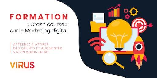 Formation en ligne en Marketing digital « Crash course » 5 heures