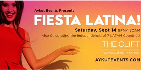 FIESTA LATINA @ CLIFT HOTEL tickets