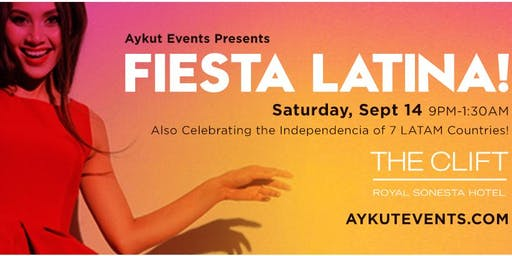 FIESTA LATINA @ CLIFT HOTEL