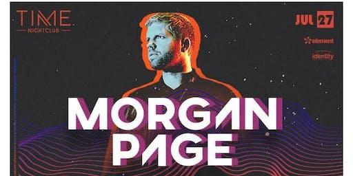 Morgan Page at Time Nightclub