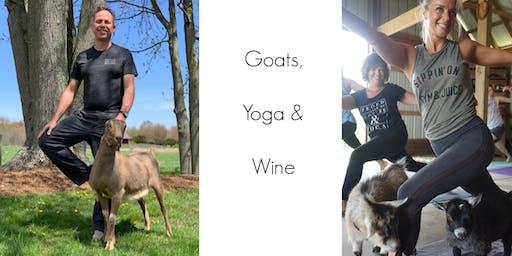 Goat Yoga & Wine