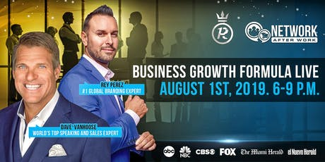 Network After Work Miami presents Business Growth Formula Live tickets