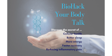 Biohacking the Ageing Code tickets