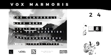 24.08.19 VOX MARMORIS tickets