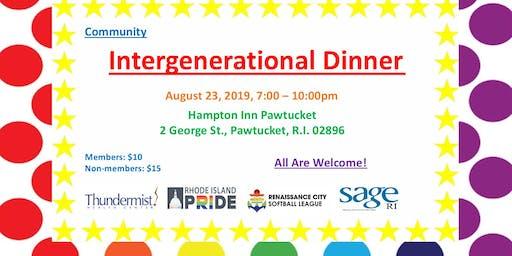 Intergenerational Dinner