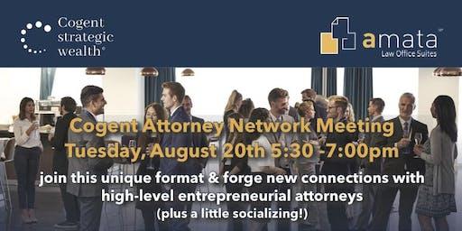 Cogent Attorney Networking August