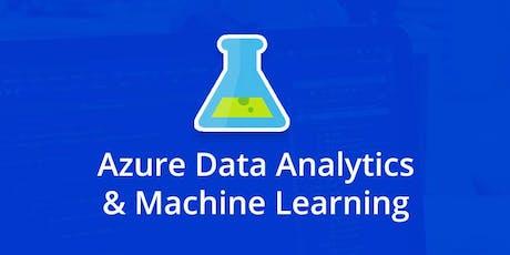 Data Analytics & Machine Learning Bootcamp tickets