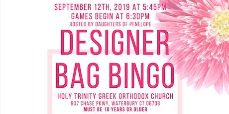 Designer Pocketbook  Bingo tickets