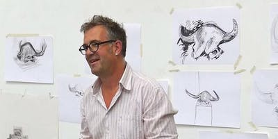 'Line versus Tone' 1-day life drawing workshop with Charles Williams NEAC RWS