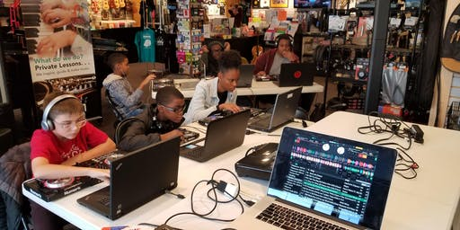 Intro 2 DJing (Youth) - NOV. 2nd-23rd (Saturdays) - $150