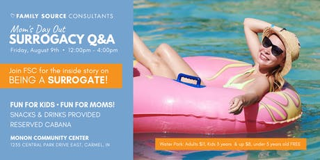 Mom's Play Day - Sunny Q&A on all things about being a Surrogate tickets