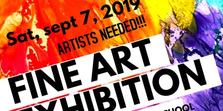 ARTIST NEEDED FOR ART SHOW  tickets