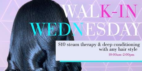 Natural Hair Wonder Women: Walk-In Wednesday's tickets