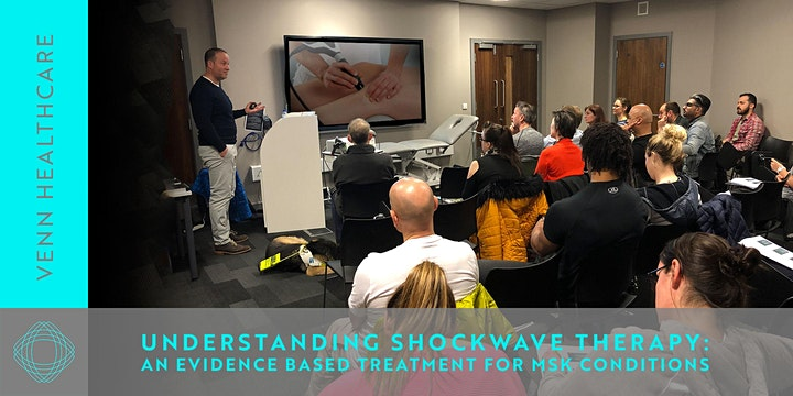 SHOCKWAVE THERAPY for MSK conditions :  LEVEL 1 with James Woledge image