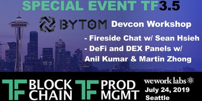 Bytom Blockchain Devcon Special Event w/ TF Block & TF Product: TF3.5