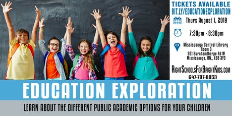Education Exploration tickets