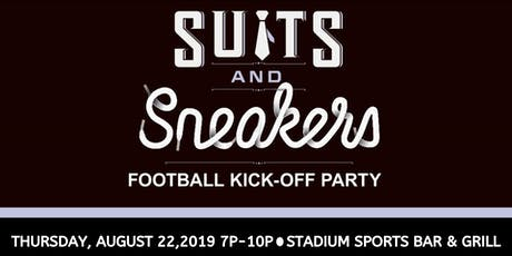 Suits & Sneakers - Thursday, August 22nd 7P-10P tickets