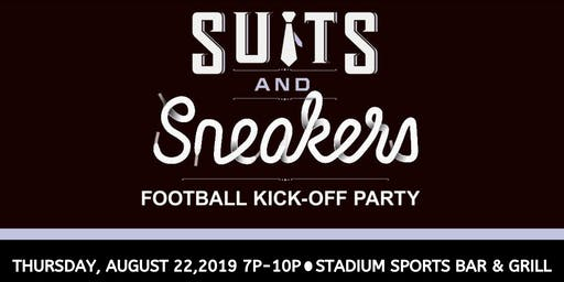Suits & Sneakers - Thursday, August 22nd 7P-10P