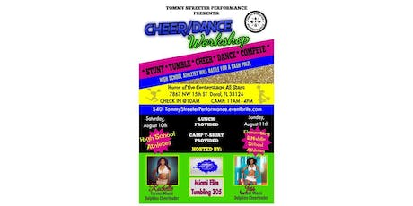 Cheer and Dance  Workshop tickets