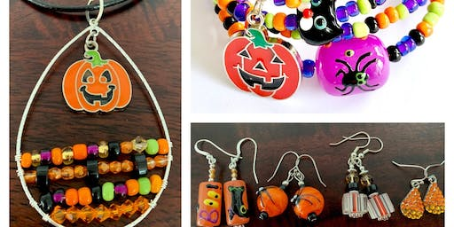 Trick or Treat Halloween Jewelry Workshop