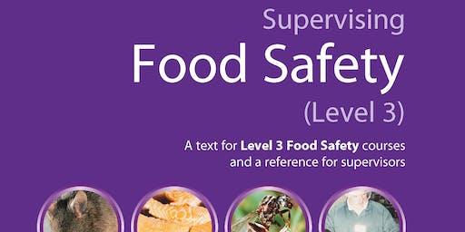 Food Safety Level 3 - £325 plus VAT