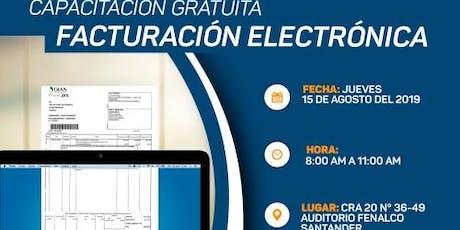 CAPACITACIÓN FACTURACIÓN ELECTRÓNICA entradas