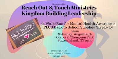 ROTM-KBL Walk/Run for Mental Health Awareness 5K