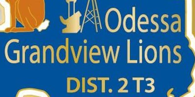 Odessa Grandview Lions Club Dues and donations!
