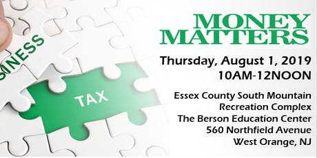 Essex County Small Business and Affirmative Action Money Matters tickets