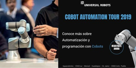 Cobot Automation Tour Puebla boletos