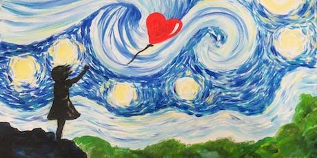 Paint Starry Night Street Art! Clapham, Wednesday 4 September tickets