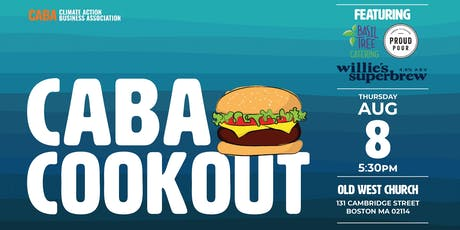 2019 Climate Action Business Association Cookout tickets