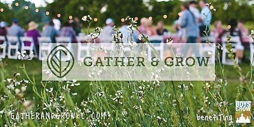 Gather & Grow 2019 w/Chef Michael Corvino