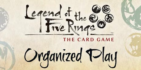 Legend of the Five Rings Organized Play tickets