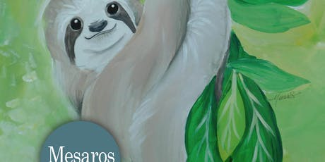JULY26 Paint Party! Slowpoke the SLOTH tickets
