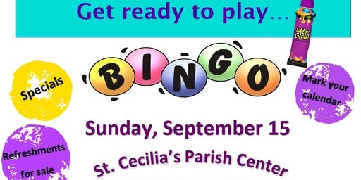Cash BINGO benefiting Suicide Prevention