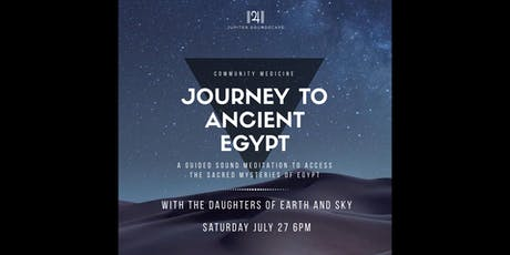 Community Medicine: Journey to Ancient Egypt tickets