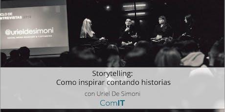 Storytelling: Como inspirar contando historias entradas