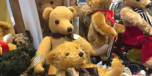 Summer New England Doll, Bear & Folk Art Show in Dedham, MA