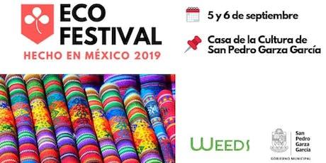 EcoFestival: Hecho en México 2019 boletos