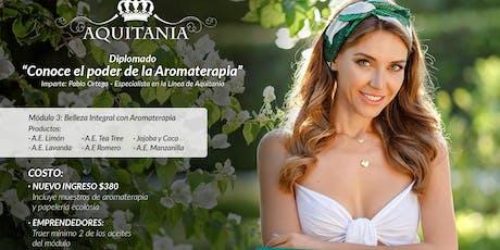 Diplomado de aromaterapia boletos