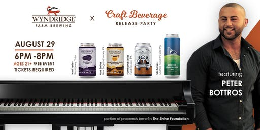 Craft Beverage Release Party