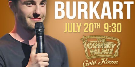 FREE GUEST LIST - Comedy Palace Gold Room Presents: Will Burkart entradas