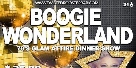 Boogie Wonderland Dinner Show tickets