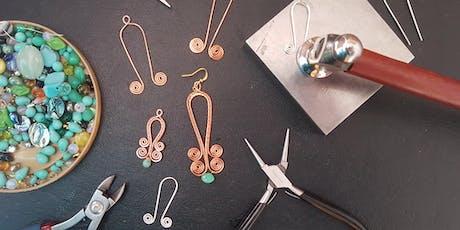 Wire Jewellery Workshop tickets