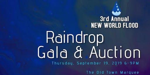 New World Flood Raindrop Gala & Auction
