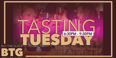 $2 Wine Flights | Tasting Tuesday tickets