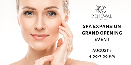 FREE Grand Opening Event - Renewal Spa & Beauty