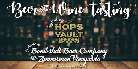 WIM Beer and Wine Tasting Networking Event! Sponsored by The Hops Vault tickets